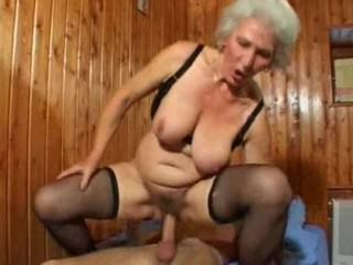Grandma Likes Being On Top For Sex -tweeds