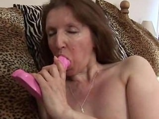 Granny Patti using fingers and toy