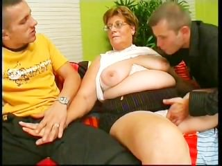 Horny Grandma Looks For Lover - Scene 2