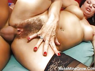 Super hot granny fucked hard